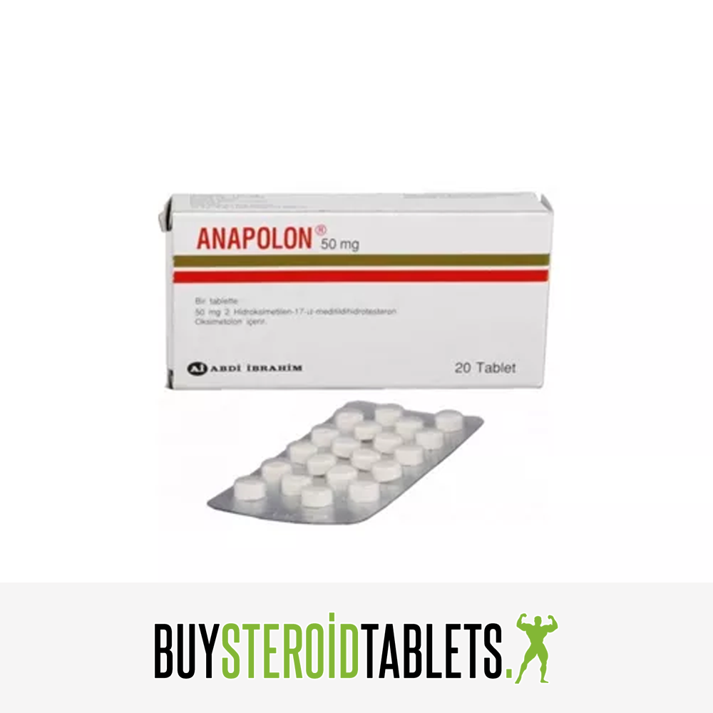 Abdiibrahim Anapolon 20 tablets 50mg - Buy Steroid Tablets