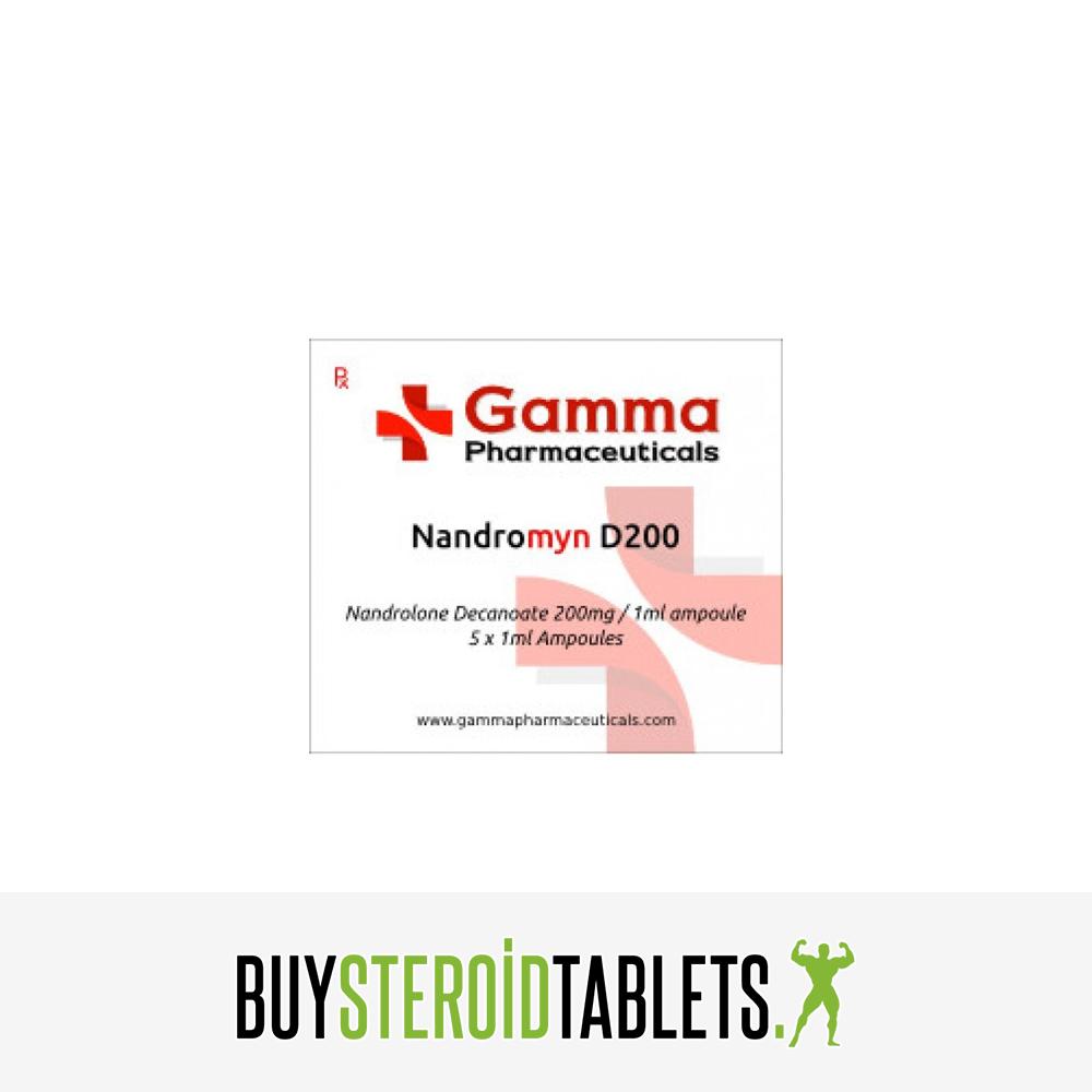 Gamma Pharma Deca Durabolin 5ml 200mg - Buy Steroid Tablets